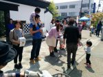 仙台教会の平和への取り組み 募金活動