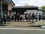 「白石市民春まつり~片倉公まつり~」での街頭募金1