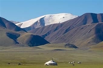 モンゴル国の美しい自然