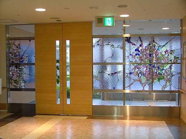 「慈愛」(めぐみ)2006年 公益財団法人仙台市医療センター仙台オープン病院